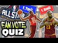 NBA ALL STAR VOTING LEADERS QUIZ mp3