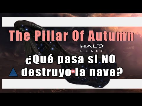 ¿Qué pasa si no le das a la nave de la misión The Pillar of Autumn?