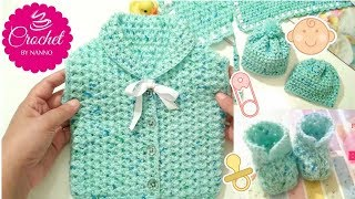 HOW TO CROCHET #1 FAST MOTIVATION BABY SET & CHILDREN ITEMS |☕ THE CROCHET SHOP