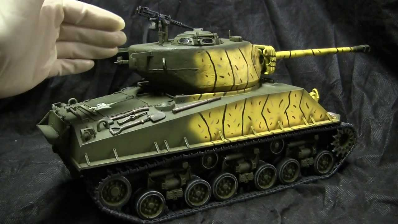 Tamiya M4a3e8 Sherman Tamiya 1/16th Scale M4a3e8