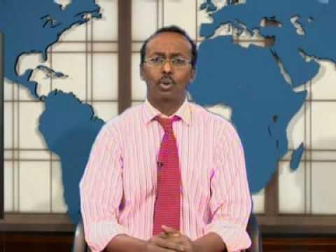 Abdullahi hussein maaryaa headlines of the news from Somali channel NEWS GALAB 5 1 2011