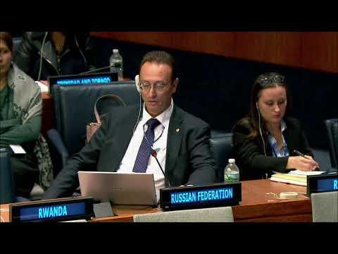 Выступление представителя РФ в 1-м Комитете ГА ООН по Другим видам оружия массового уничтожения
