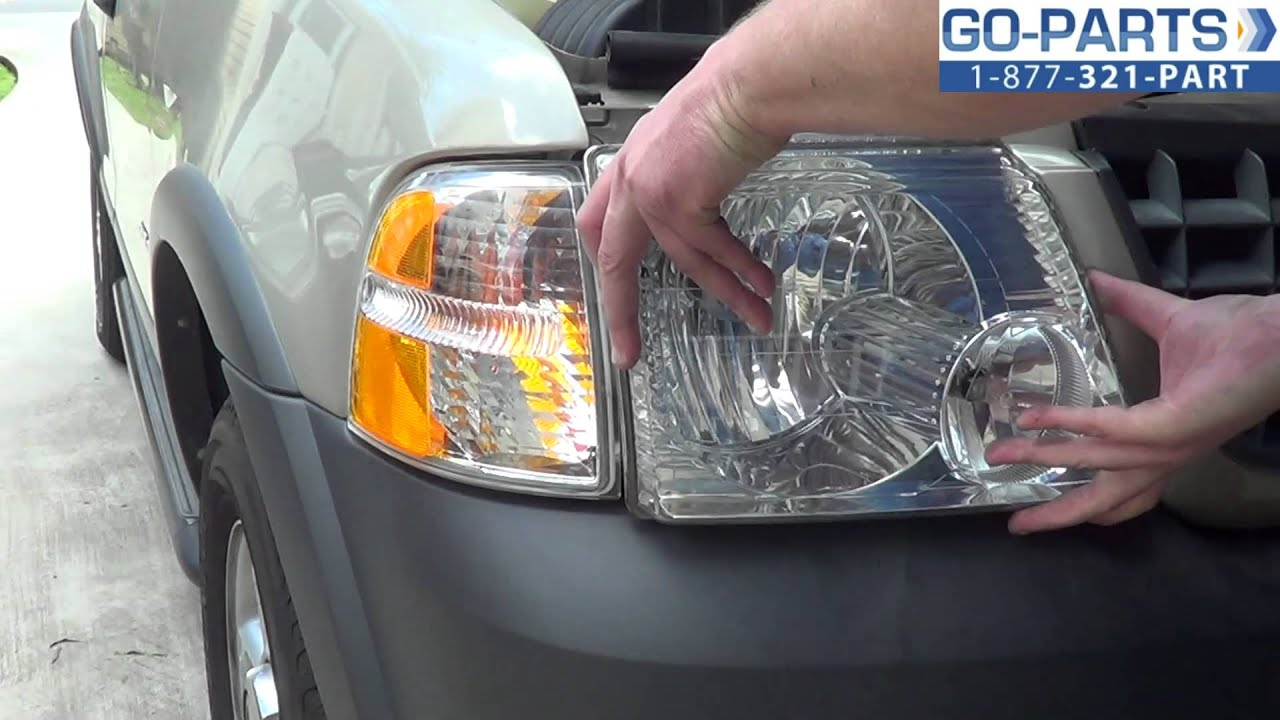 replace 2001 2005 ford explorer headlight bulb how to. Black Bedroom Furniture Sets. Home Design Ideas