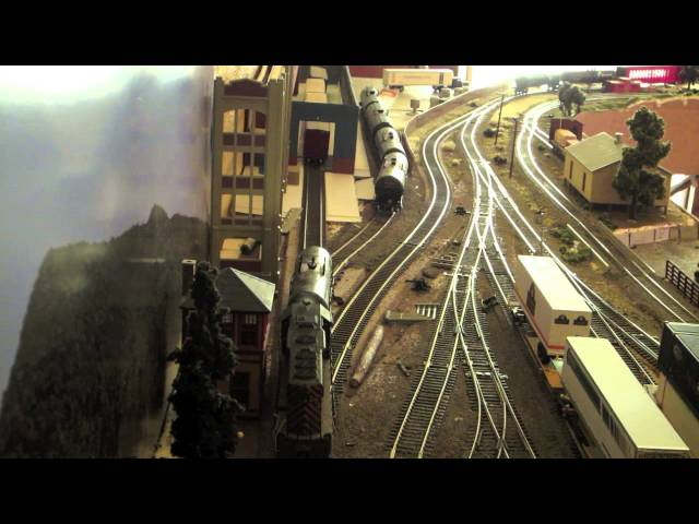 HO Model Train Operations