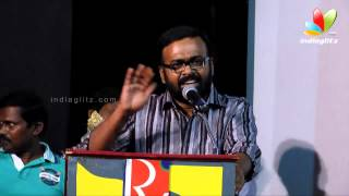 Cocktail - Karu Palaniappan and Vidharth Speech at Athithi Tamil Movie Audio Launch | Nandha, Vikraman