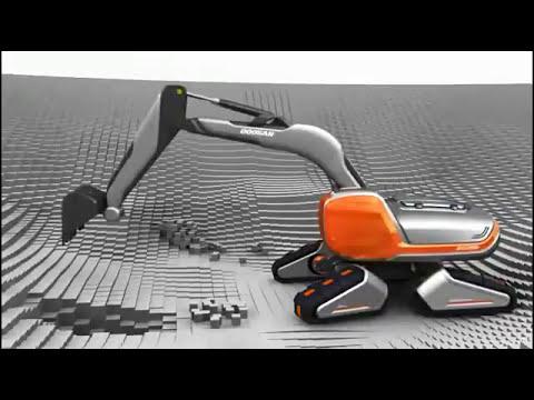 Doosan CX Eco Transformer, Concept Excavator, www.maskinia.se