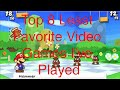 Top 8 least favorite games I've played