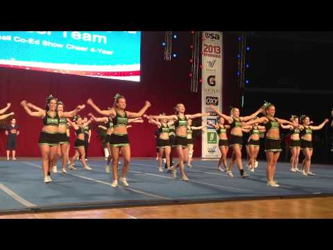 University of Regina Cheerleading - USA Collegiate Nationals 2013 - Day 2 - Small Coed