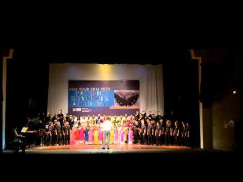 Pacific Boychoir Academy - B?c Kim Thang - 07/17/2014