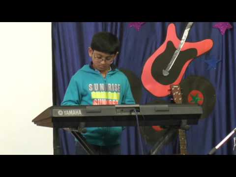 Natraj Sangeet Mahavidyalaya Students Performing Keyboard