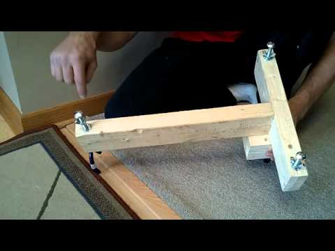 Rifle Shooting Stand / Rest DIY Homemade $5