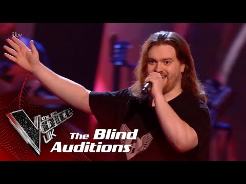 Chris Performs 'Prince Ali': Blind Auditions   The Voice UK 2018