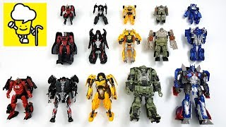 Transformers Movie 5 The Last Knight Toys with Optimus Prime Bumblebee トランスフォーマー 變形金剛
