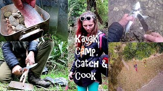 Kayak, Camp, Catch & Cook