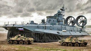 Russian Military Power 2016 Navy force air land army in drills 俄羅斯軍事實力海陸空實戰演習
