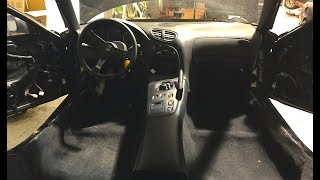 FD RX7 GETS INTERIOR