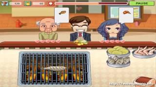 Chơi game nấu ăn nhà hàng - Cửa hàng đồ nướng BBQ