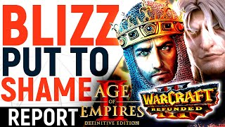 Blizzard, THIS Is How To 'Reforge' Games: Age of Empires 2 Definitive Edition THRASHES WC3:R