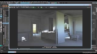 Forum Question Answer on Shading, Lighting and Rendering the Bedroom in MR