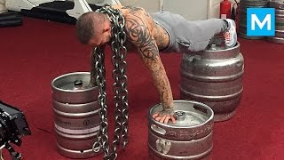 Strength Workout for UFC - Ross Pearson | Muscle Madness