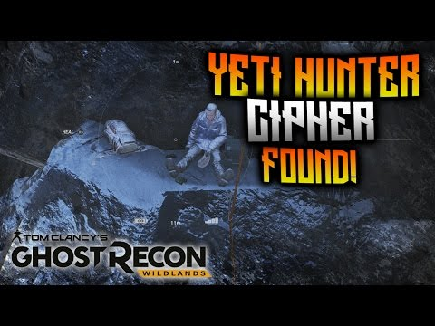 Ghost Recon Wildlands - NEW Yeti Hunter Cipher Found! Cipher Disk Explained