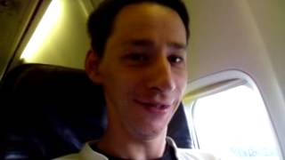 Première fois en avion