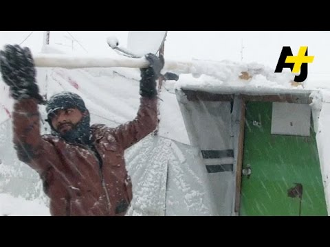Middle East Winter Storm Threatens Refugees