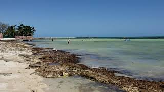 Key West Beach on the Atlantic Ocean - April 14, 2018