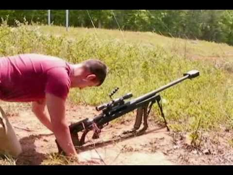 Shooting the .50cal Armalite AR-50