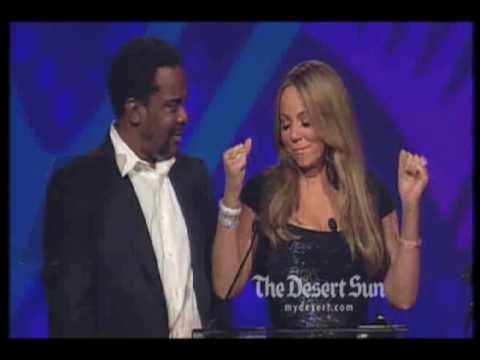 Mariah Carey creates buzz with award speech ** FULL SPEECH **
