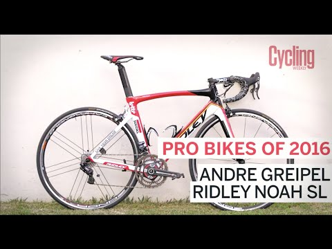 Pro bikes of 2016: Andre Greipel's Ridley Noah SL | Cycling Weekly