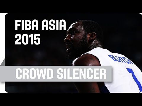 Andray Blatche: The Crowd Silencer! - 2015 FIBA Asia Championship