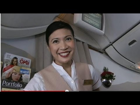Emirates Cabin Crews: No Better Way To Smile(s)    :))) video