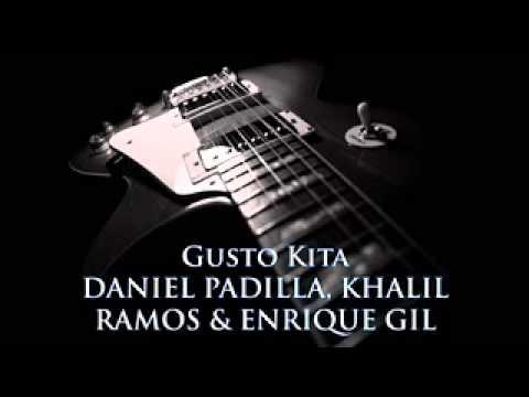 Daniel Padilla, Khalil Ramos and Enrique Gil   Gusto Kita