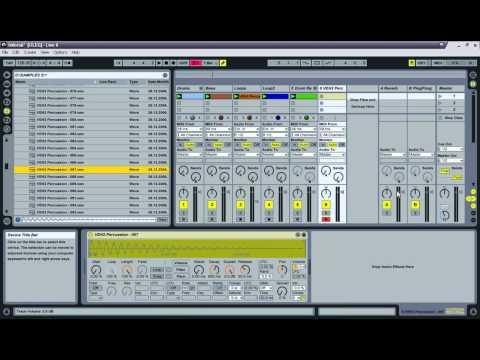 Уроки Ableton Live - видео