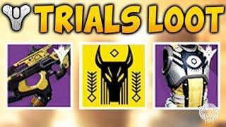 Destiny: TRIALS OF OSIRIS REWARDS! Flawless Run & Lighthouse Chest Loot (The Taken King Year 2)