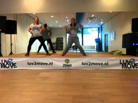 Psy Gangnam Style Zumba Fitness Choreography video