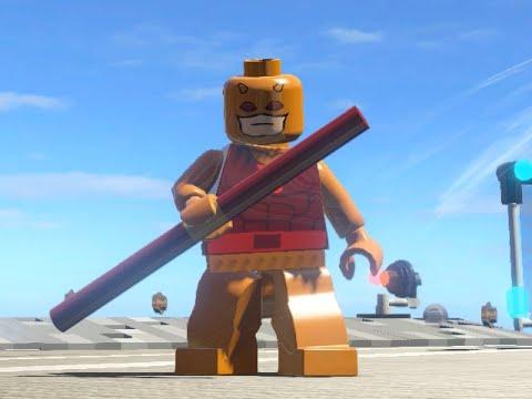 LEGO Marvel Superheroes - Classic DareDevil FREE ROAM GAMEPLAY (MOD SHOWCASE)