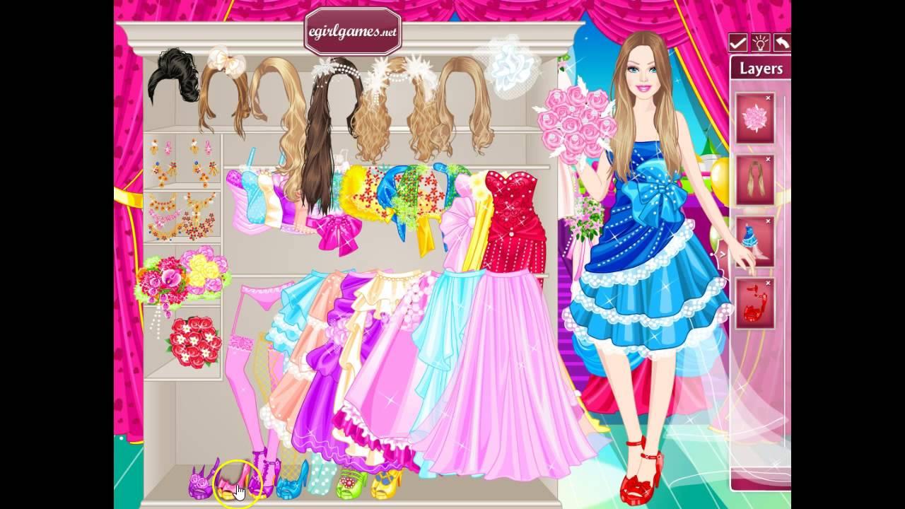 Игра Свадебная Одевалка Барби