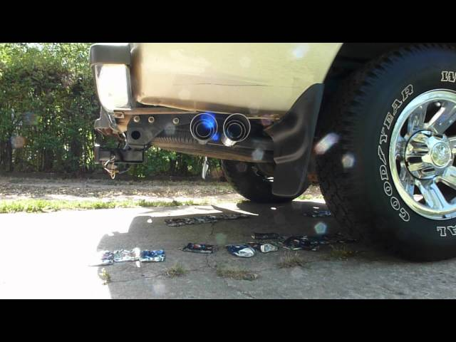 Ford Ranger 3.0L V6 Gibson Cat-Back Dual Sport Exhaust System