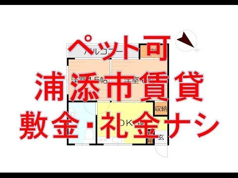 浦添市当山 2DK 3.5万円 マンション