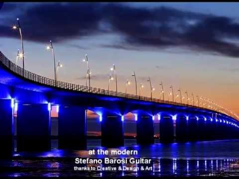 at the modern *Stefano Barosi smooth guitar*