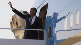 Obama Leaves For Africa Trip, Will Visit Kenya, Ethiopia