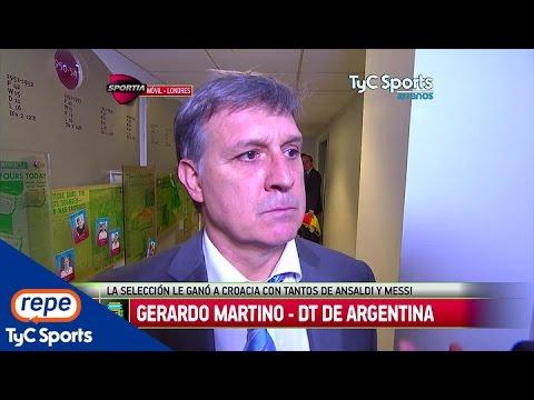 """Gerardo Martino: """"Somos un equipo de ráfagas"""""""