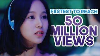 FASTEST KPOP GROUPS MUSIC VIDEOS TO REACH 50 MILLION VIEWS