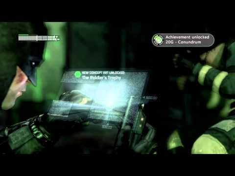 Batman Arkham City - Riddler Challenge Room!