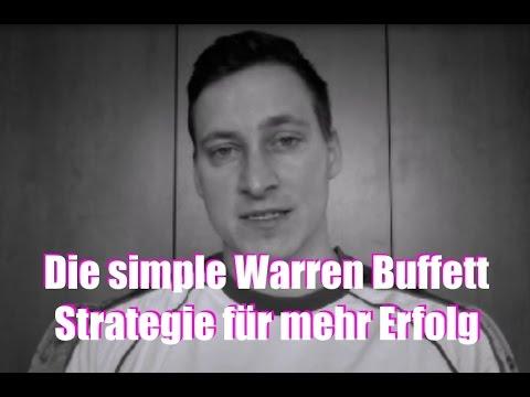 Warren Buffett  Strategie - Was Du von Warren Buffett lernen kannst