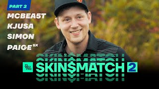 DISC GOLF SKIN$ MATCH 2 | Part 2 | McBeth, Pierce, Lizotte, Jones at Smuggs
