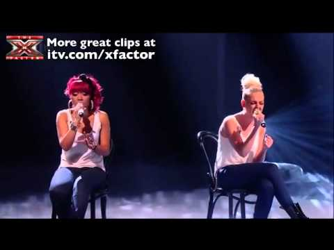 Little Mix - Beautiful - The X Factor 2011 [Live Show 8 Performance 2]