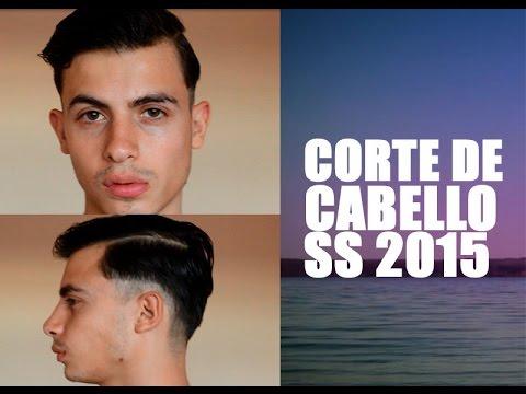 Corte de Cabello para hombre Primavera 2015 // Haircut Man Spring 2015